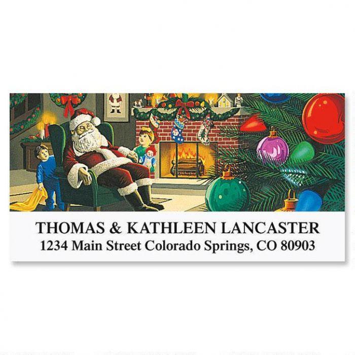 Christmas Wonder Deluxe Address Labels