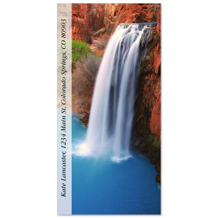 Havasu Falls  Oversized Return Address Labels