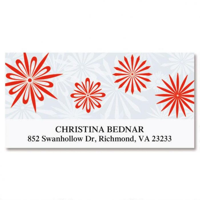 Ladies Choice Deluxe Return Address Labels