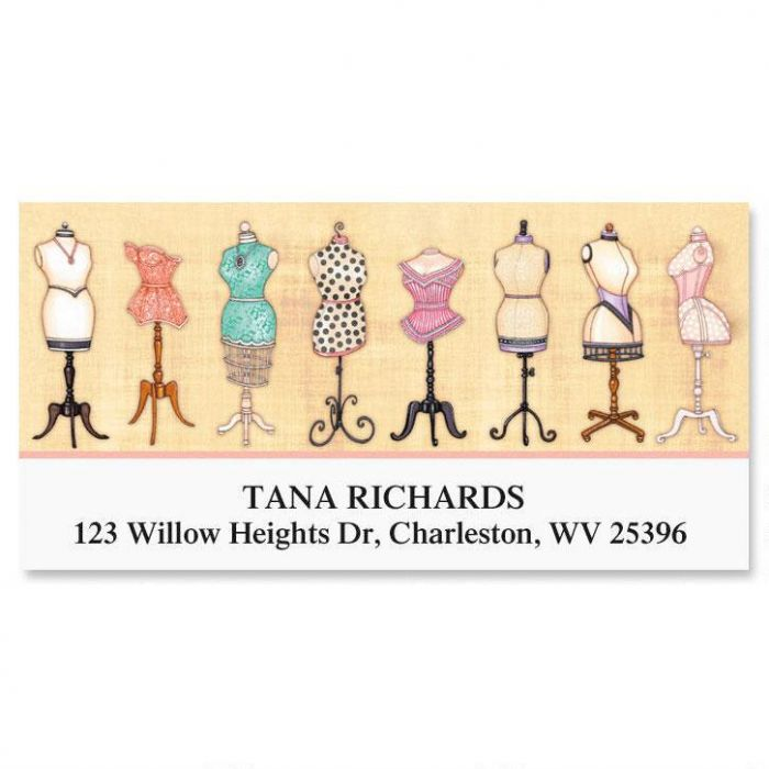Love of Sewing Deluxe Return Address Labels