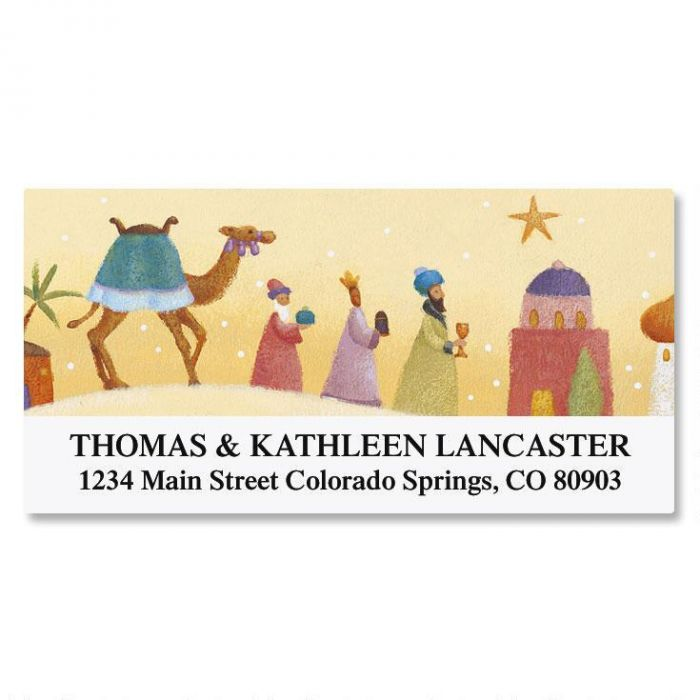Peace on Earth Deluxe Address Labels