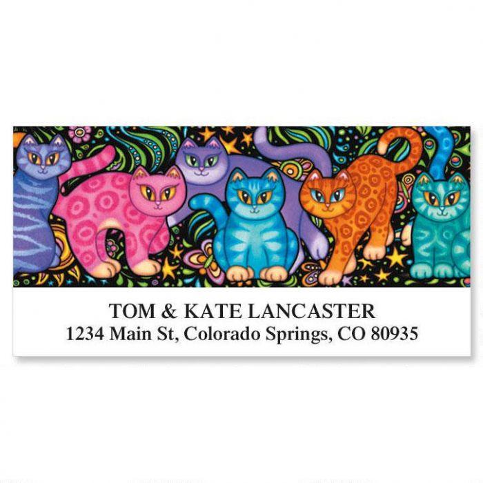 Sew Kitty Deluxe Return Address Labels