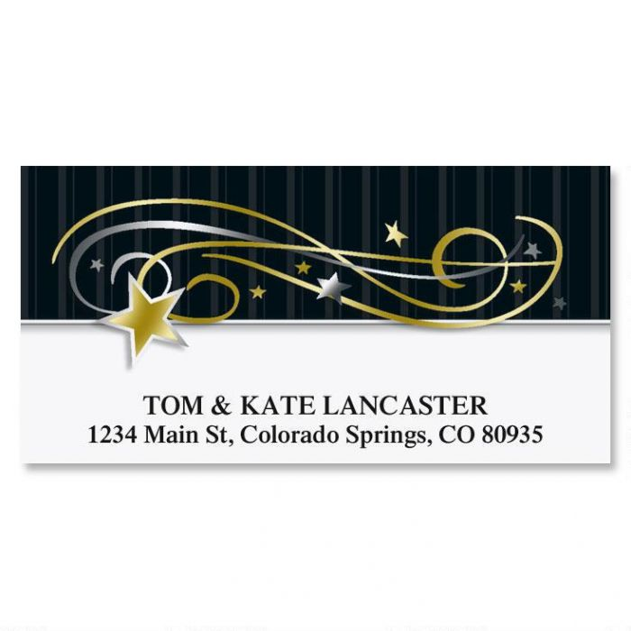 After Midnight Deluxe Return Address Labels