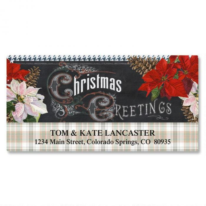 Victorian Greetings Deluxe Return Address Labels