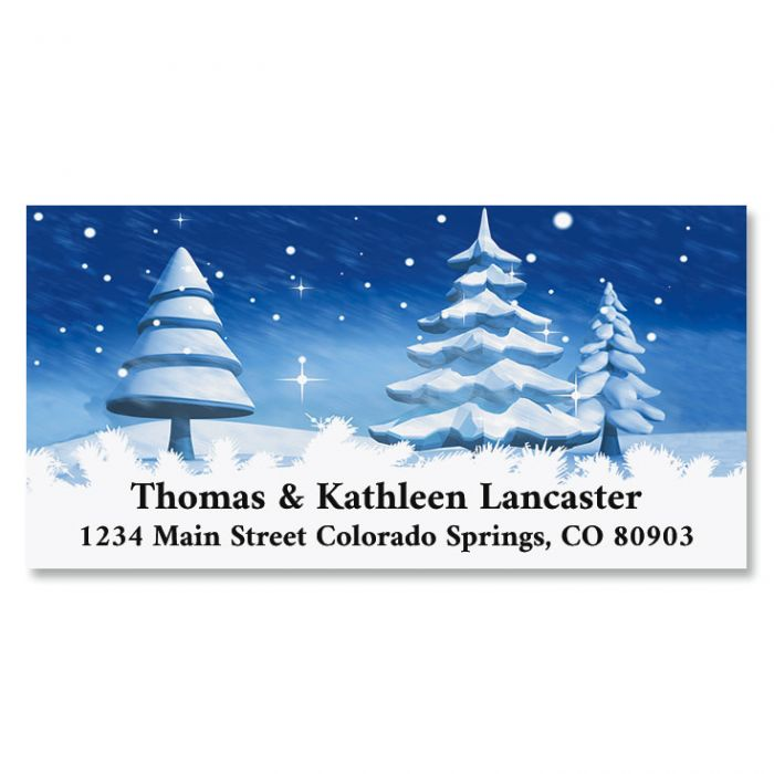 Winter Is Here Deluxe Return Address Labels