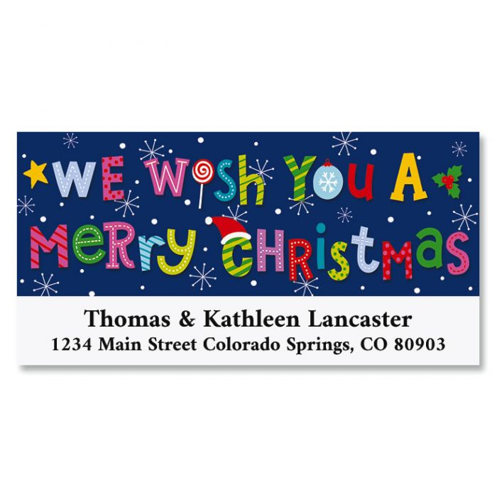 From All Of Us Deluxe Return Address Labels