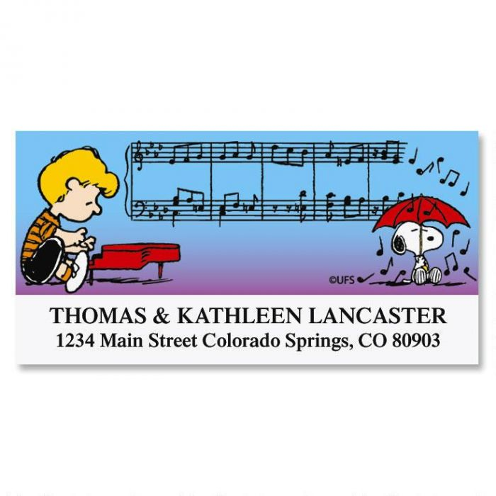 SCHROEDER'S® Symphony Deluxe Return Address Labels