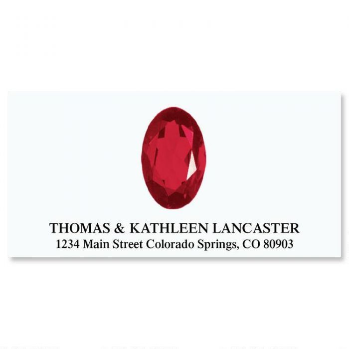 Our Family Gems Deluxe Return Address Labels