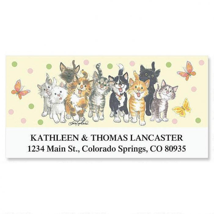 Suzy's Zoo® Whiskers™ Deluxe Return Address Labels
