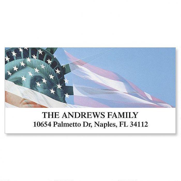 Liberty Deluxe Return Address Labels