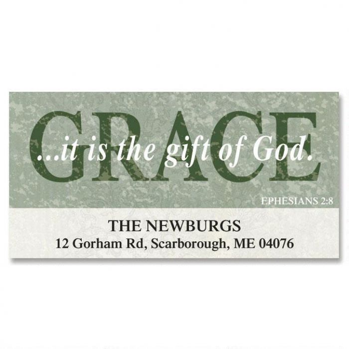 Grace Deluxe Return Address Labels