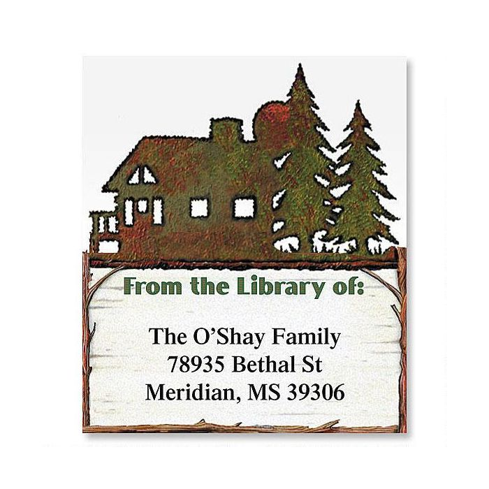 Country Lodge Bookplates