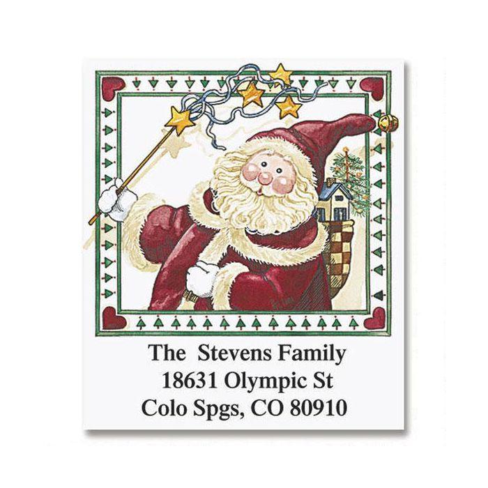 Sandi's Magical Christmas   Select Return Address Labels