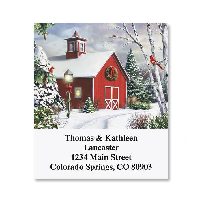 After the Snow Select Return Address Labels