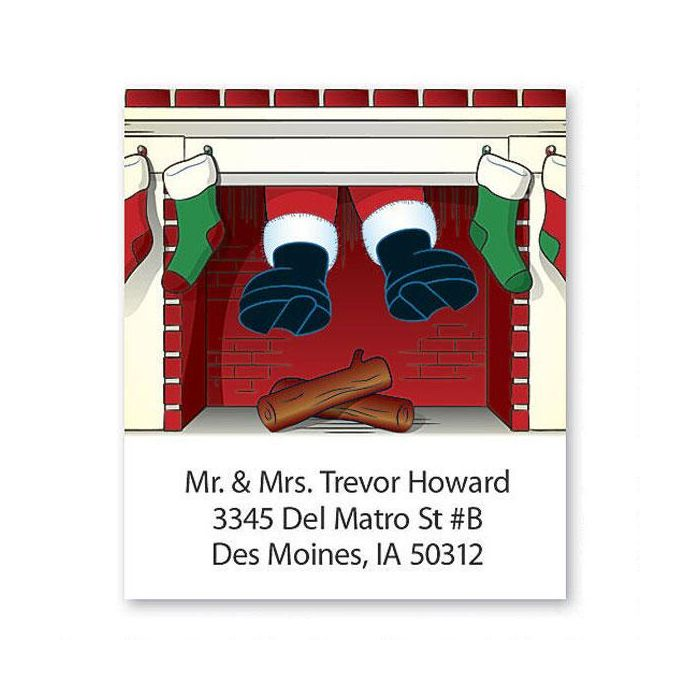 Down The Chimney Select Return Address Labels