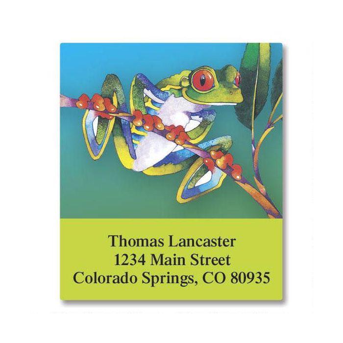 Frog Select Return Address Labels