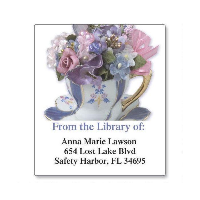 Tea & Posie  Bookplates