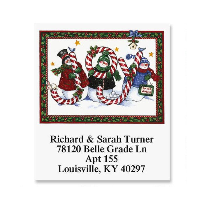 Joy to the World Select Address Labels