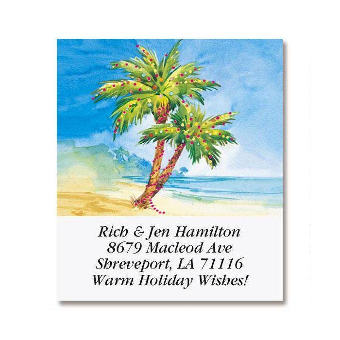 Holiday Paradise Select Return Address Labels