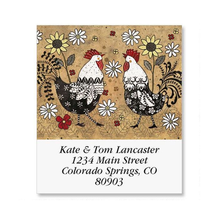 Rule The Roost Select Return Address Labels