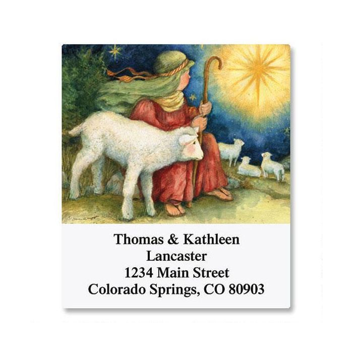 Shepherd Boy Select Address Labels
