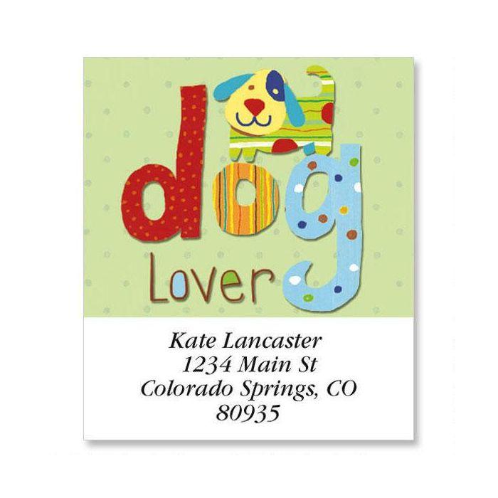 Dog Lover Select Return Address Labels