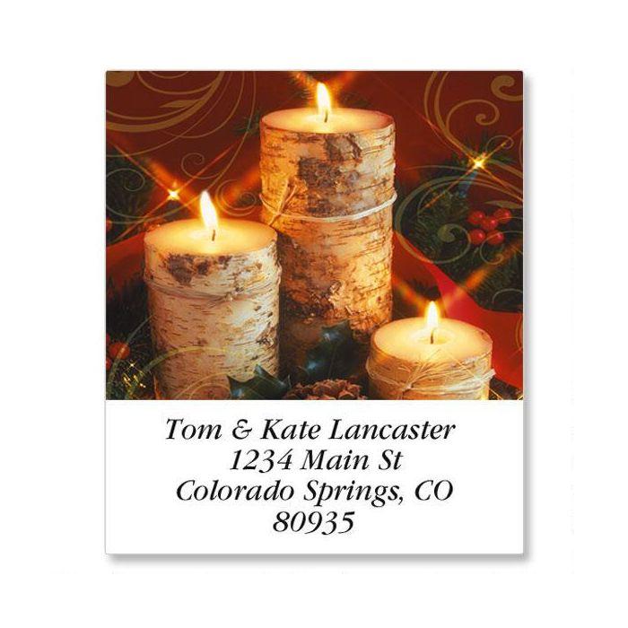 Warm Wishes Select Return Address Labels