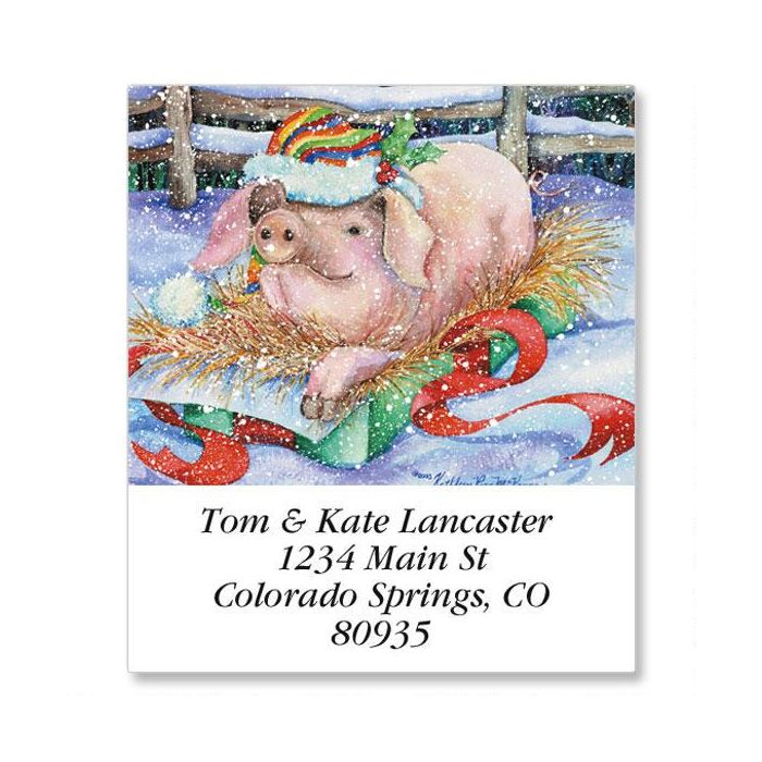 The Best Gift Select Return Address Labels