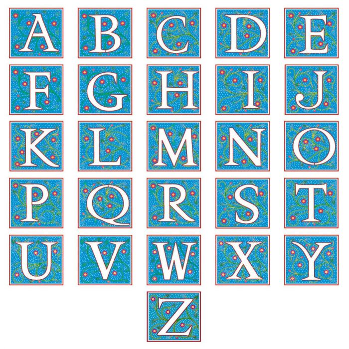 Nabel Monogram Select Return Address Labels