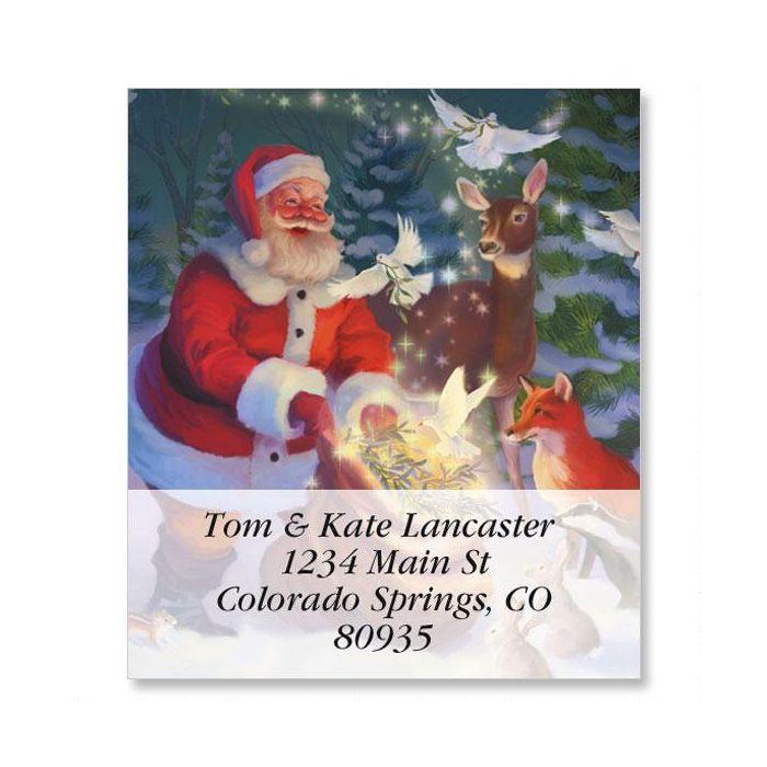 Christmas Peace Select Return Address Labels