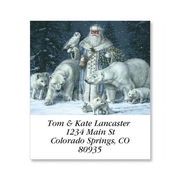 Christmas Splendor Select Return Address Labels