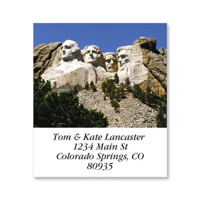 Mount Rushmore Select Return Address Labels