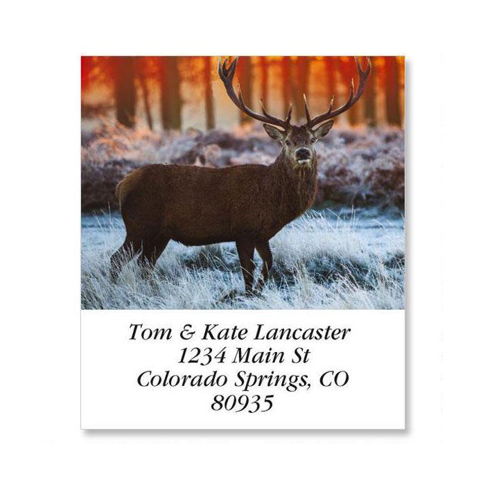 Deer Select Return Address Labels