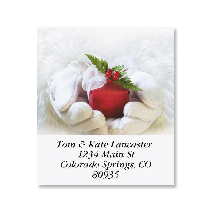 Santa's Gift Select Return Address Labels