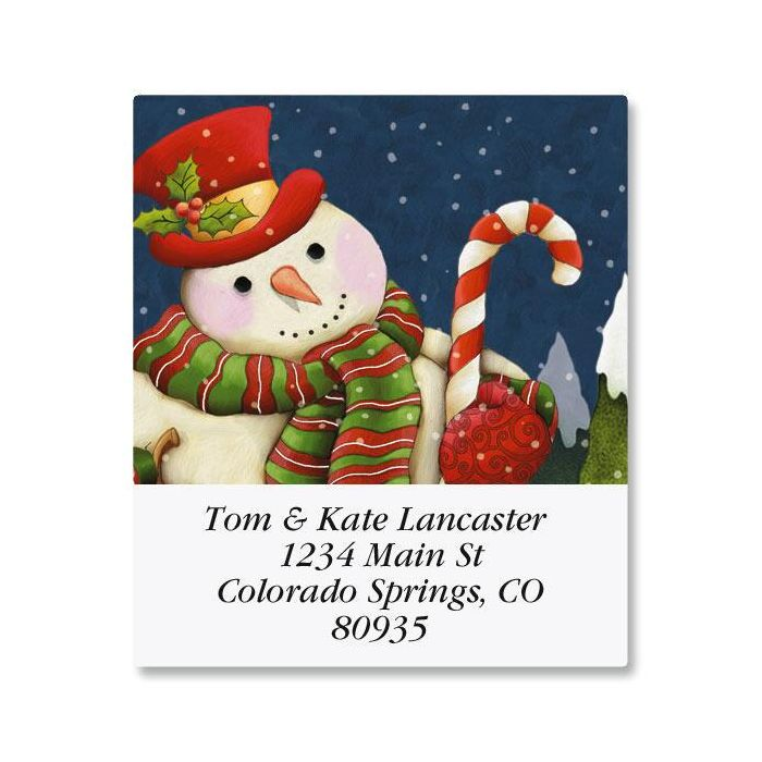 Forest Friends Select Return Address Labels