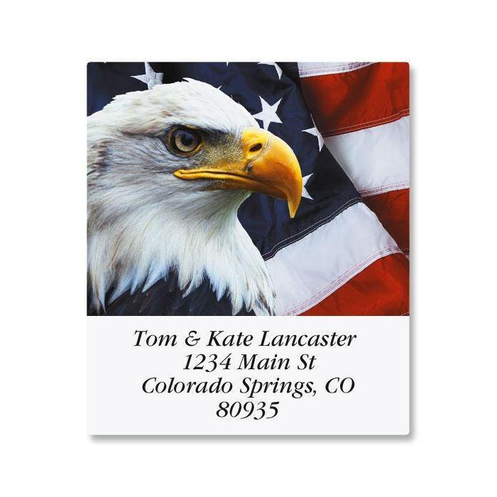 Bald Eagle Select Return Address Labels