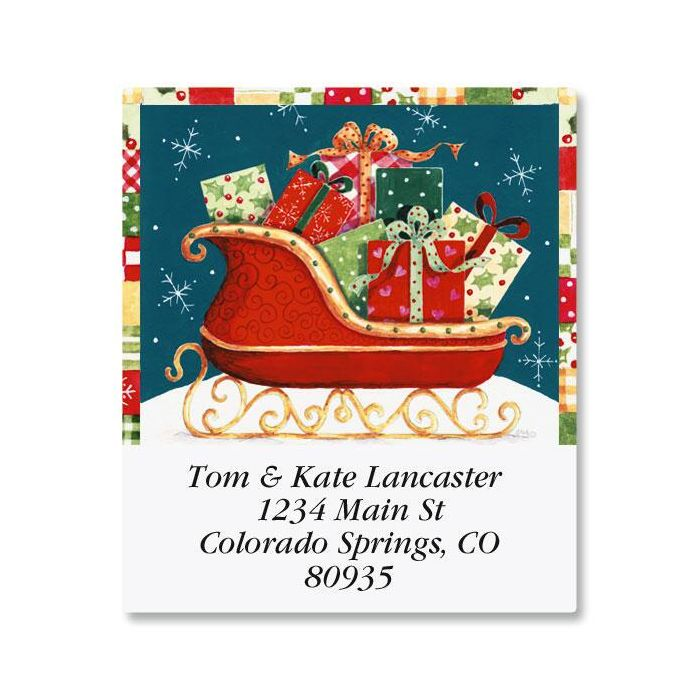 Sleigh Select Return Address Labels