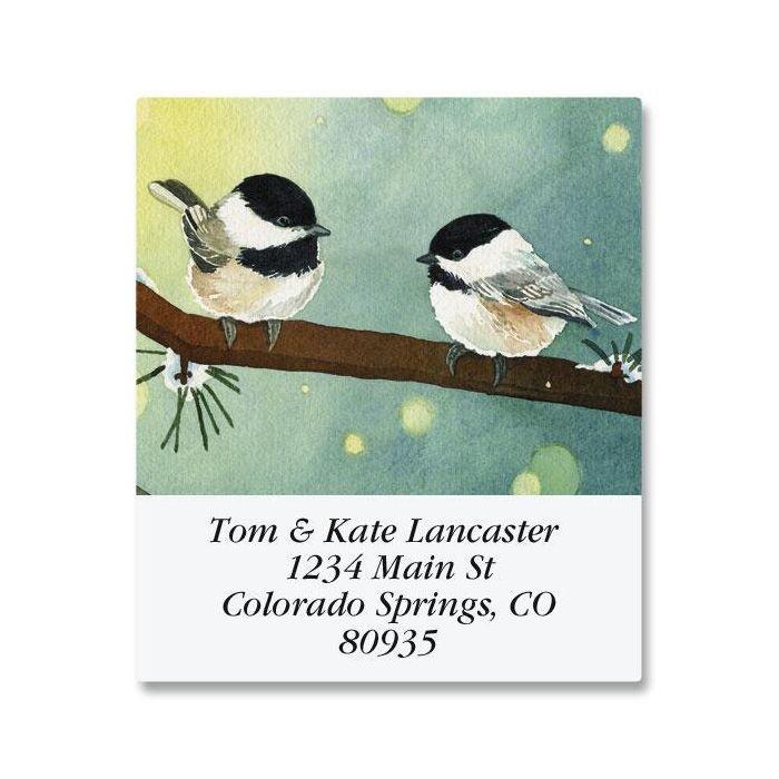 Pine Birds Select Return Address Labels