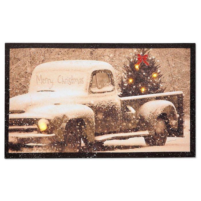 Vintage Truck Light-Up Canvas