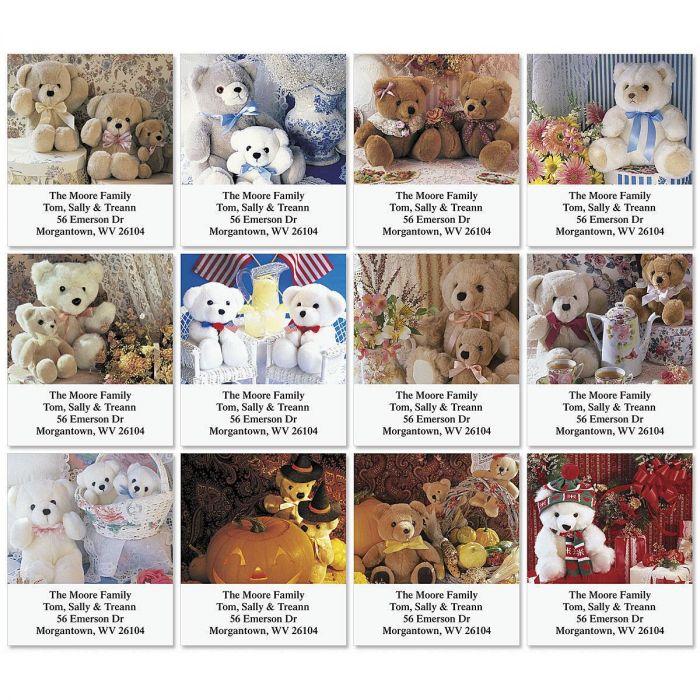 Teddy Bear Magic Select Return Address Labels  (12 Designs)