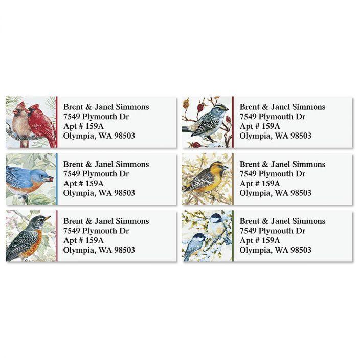 Garden Friends Classic Return Address Labels  (6 Designs)