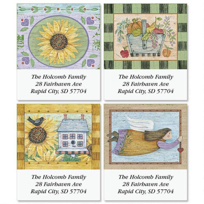 Kountry Korner Select Return Address Labels  (4 Designs)