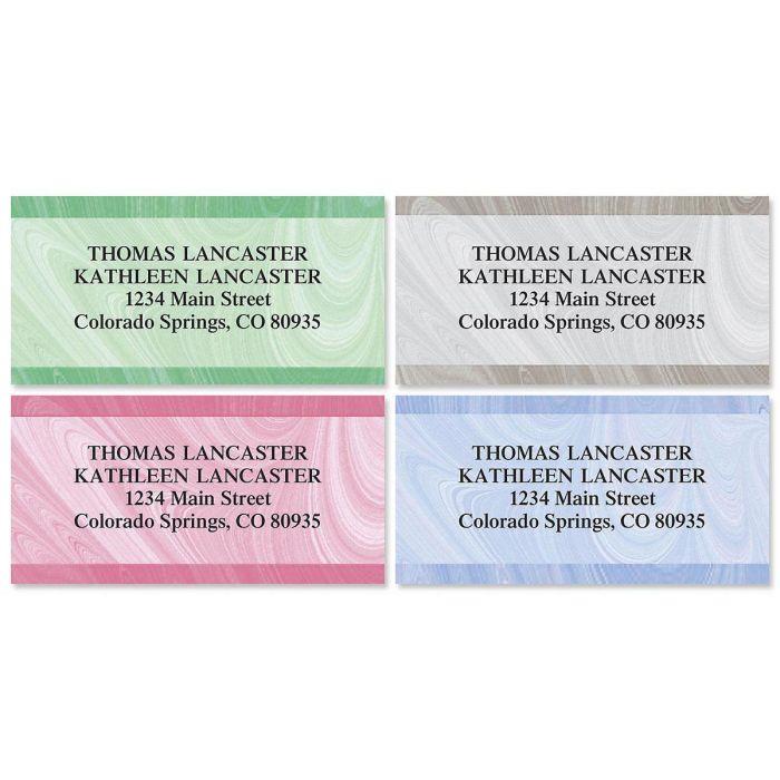 Genesis Border Return Address Labels  (4 Designs)