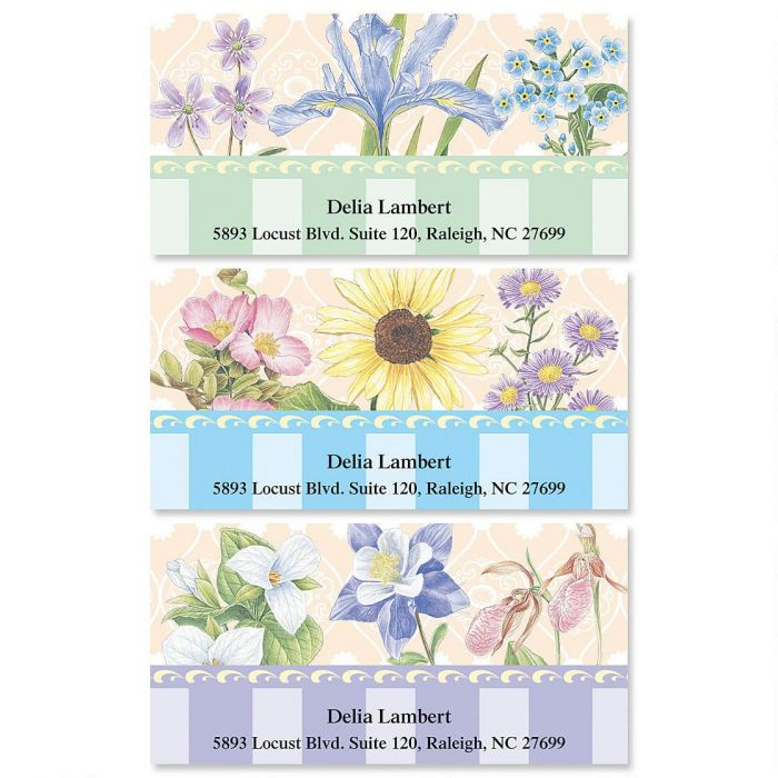 Tapestry Deluxe Return Address Labels   (3 Designs)