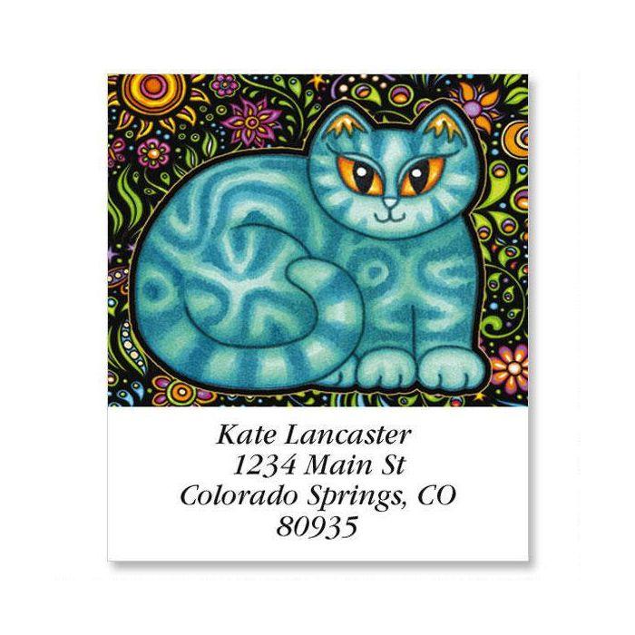Sew Kitty Select Return Address Labels  (6 Designs)