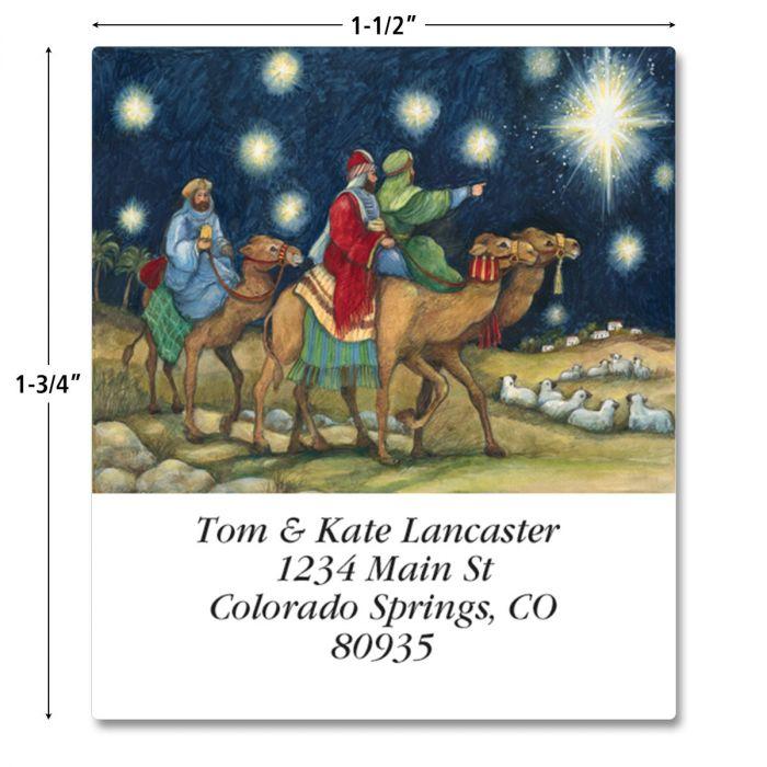Nativity Scene Select Address Labels  (2 Designs)
