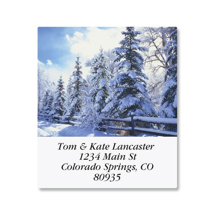 Quiet Moments Select Return Address Labels  (12 Designs)
