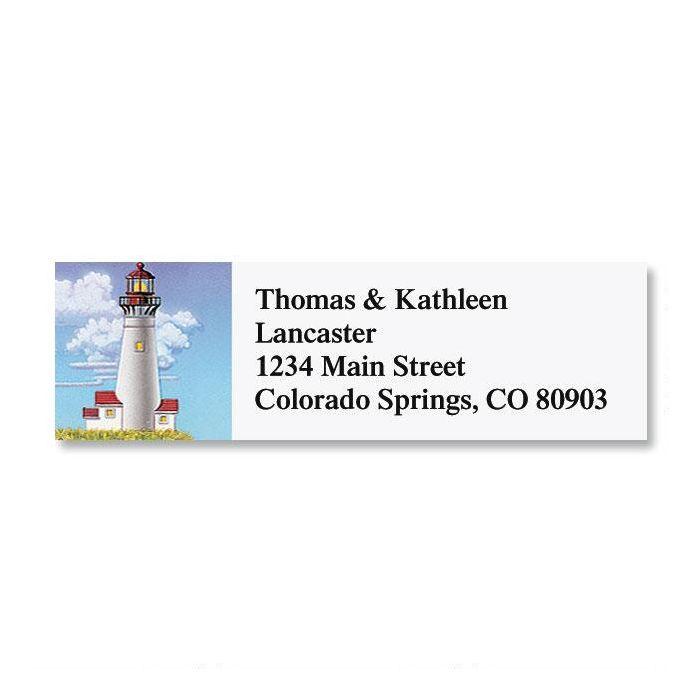 Lighthouses Classic Return Address Labels  (6 Designs)