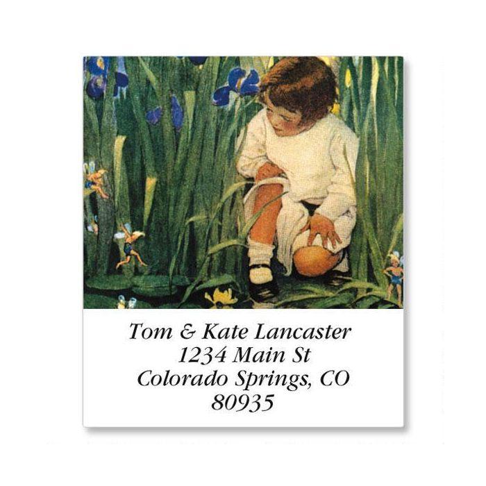 Storybook Children Select Return Address Labels  (12 Designs)