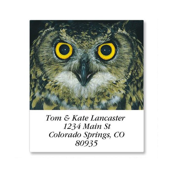 Amazing Creatures Select Return Address Labels  (24 Designs)